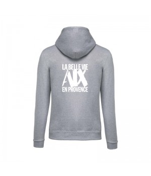 Sweat Capuche mixte Gris