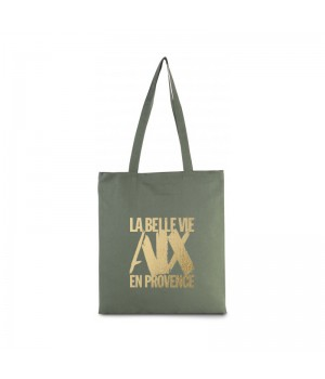 Tote bag green olive