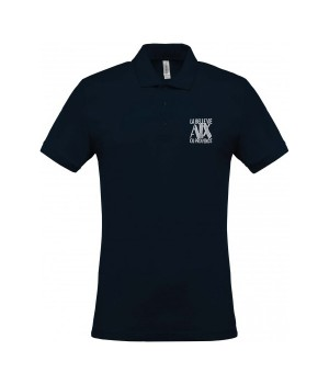 Men's short-sleeved polo...