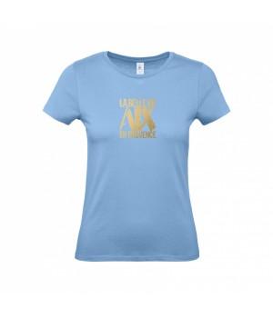 Tee Shirt Femme Bleu Ciel