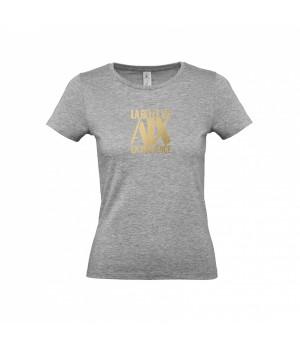 Tee Shirt Femme Gris