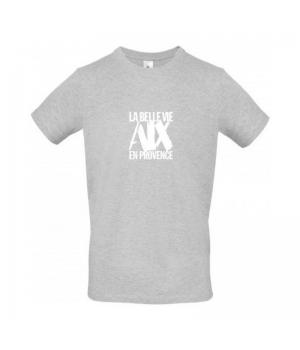 Tee Shirt Homme Gris