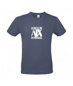 Tee Shirt man denim blue
