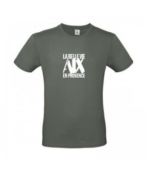 Tee Shirt Homme Kaki