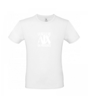 Tee Shirt man white