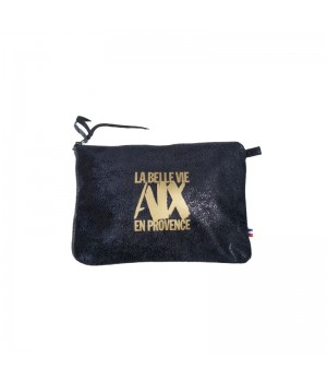 Pochette cotton black